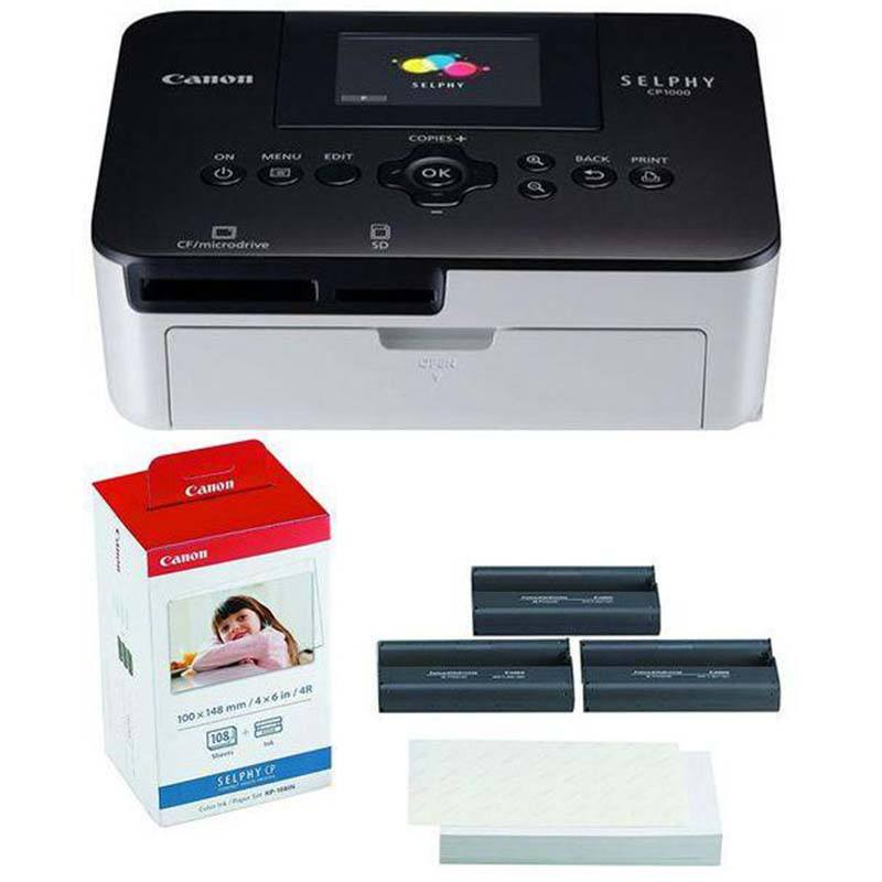 Printer-Canon-Selphy-CP-1000